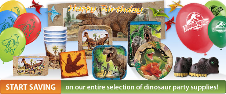 Dinosaur Party Supplies Dinosaur Corporation