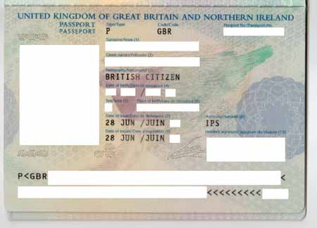 ... of your signature is reproduced on the main Passport laminated page
