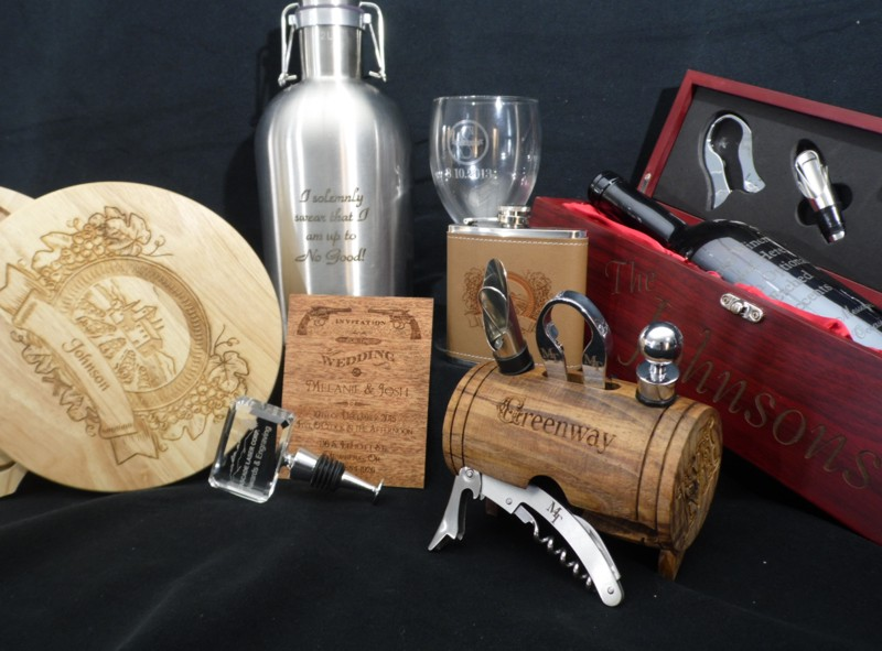 Cascade Laser Engraving Custom Gifts