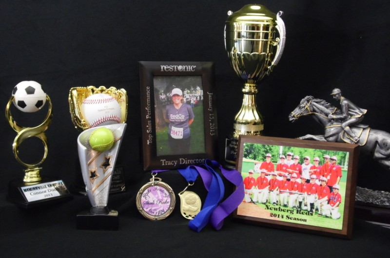 Cascade Laser Engraving Trophies