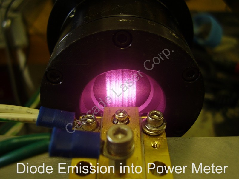 Diode Emission into Power Head
