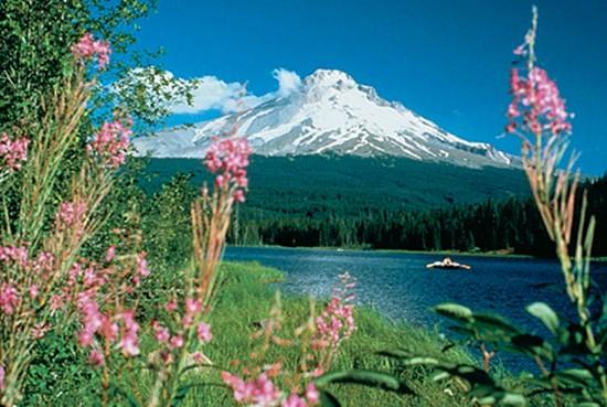 Cascade Laser Mt. Hood Image