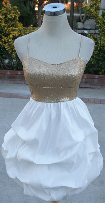 Windsor Gold Dress