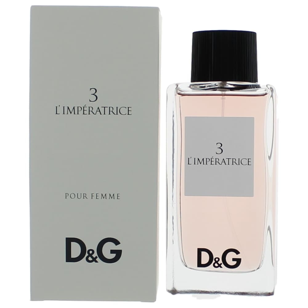 d g anthology l 39 imperatrice 3 perfume edt spray women new 737052263137 ebay. Black Bedroom Furniture Sets. Home Design Ideas