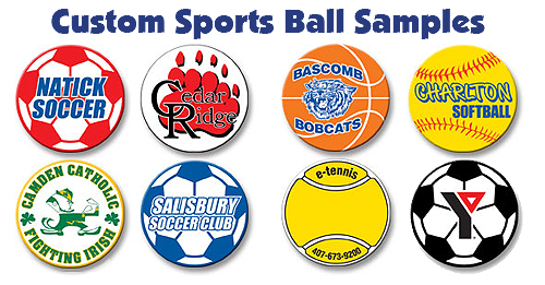 Let us customize any of our magnets and removeable stickers for your team or fundraiser