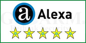GeoArm's Alexa Alarm Monitoring Customer Reviews