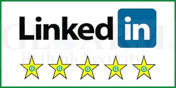GeoArm's LinkedIn Alarm Monitoring Customer Reviews