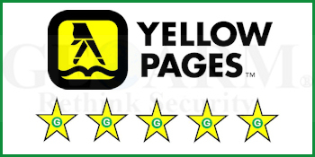 GeoArm's Yellowpages Alarm Monitoring Customer Reviews