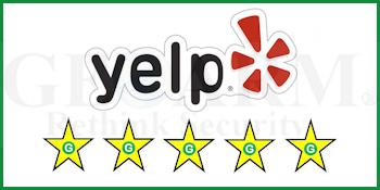 GeoArm's Yelp Alarm Monitoring Customer Reviews