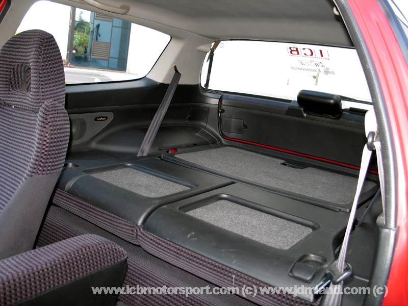 Used Jdm Eg6 Rear Interior Conversion Black Sold