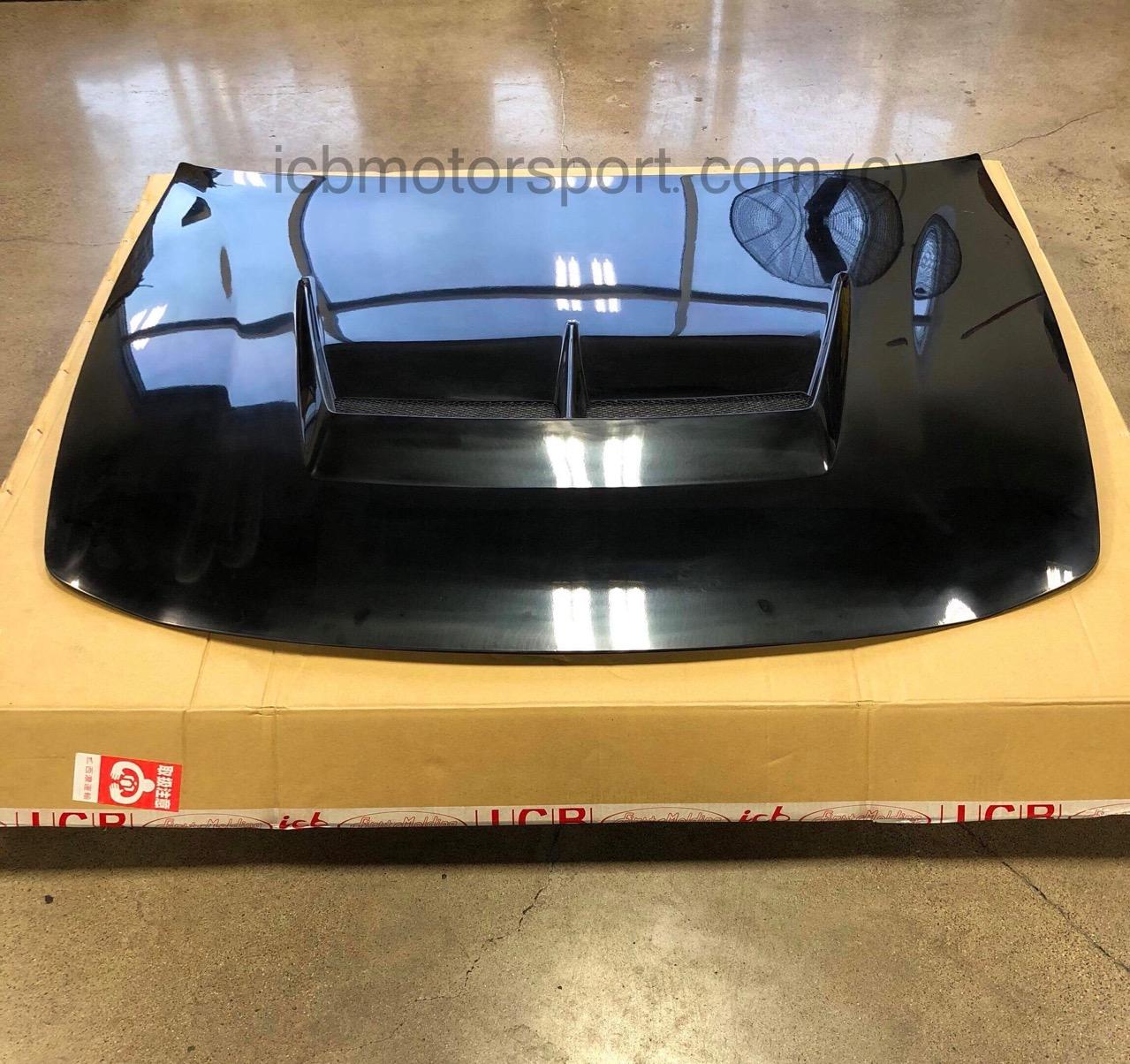 ICBJapan X First Molding Aero Vented Hood USDM Acura