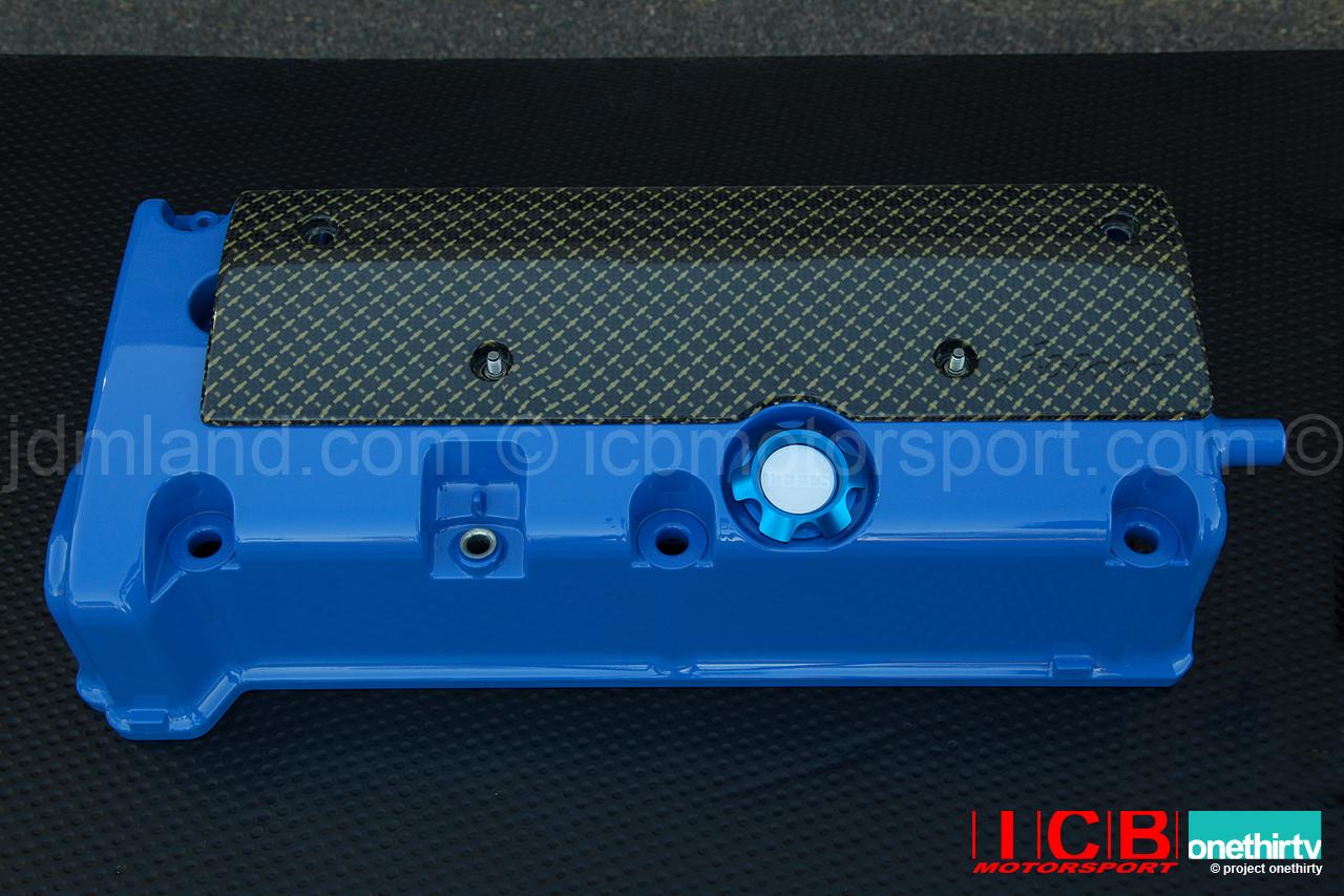Icb Japan Jblood K20a Carbon Kevlar Coil Pack Cover