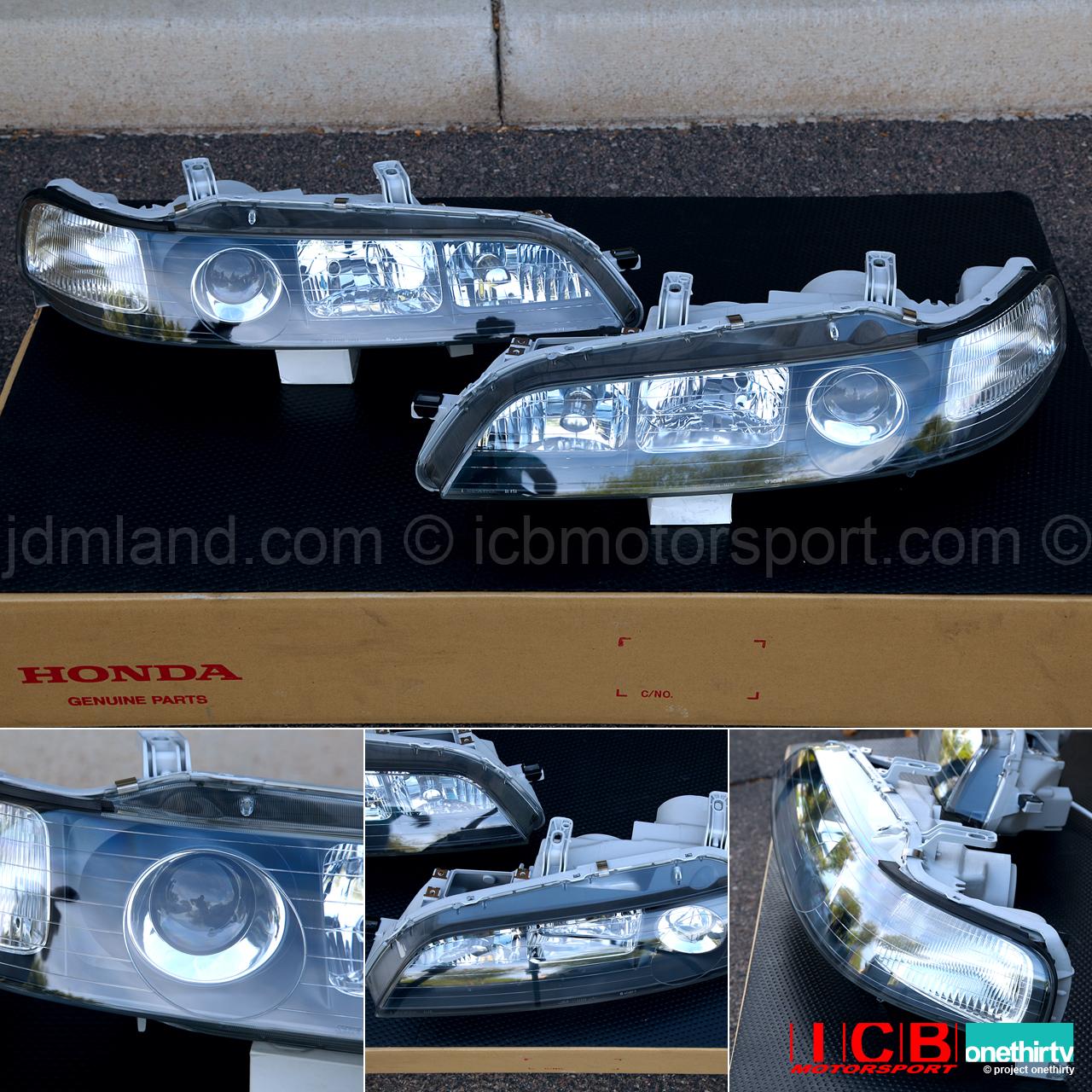 JDM DC2 Integra DC2 ITR Black Housing HID Headlights