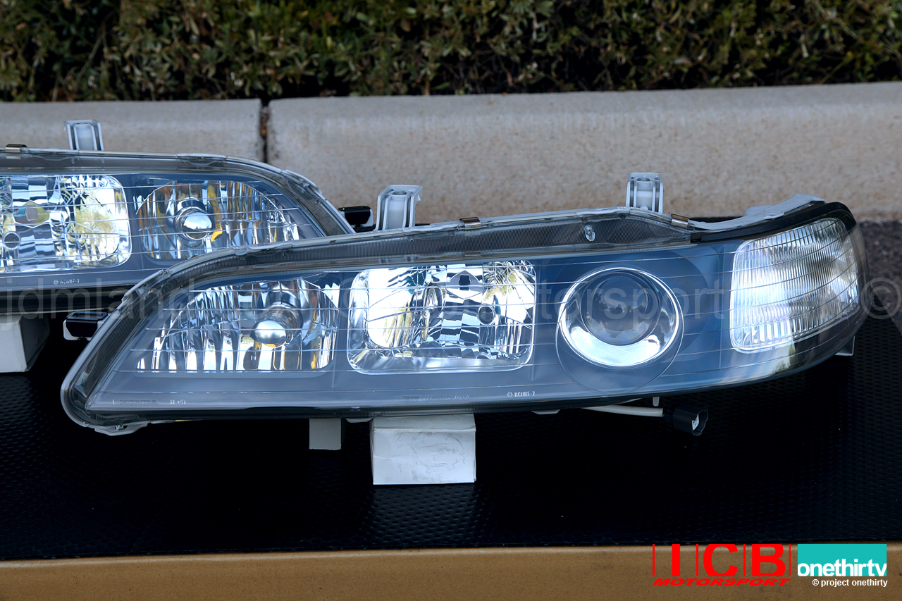 What Are Hid Headlights >> JDM DC2 Integra DC2 ITR Black Housing HID Headlights ...