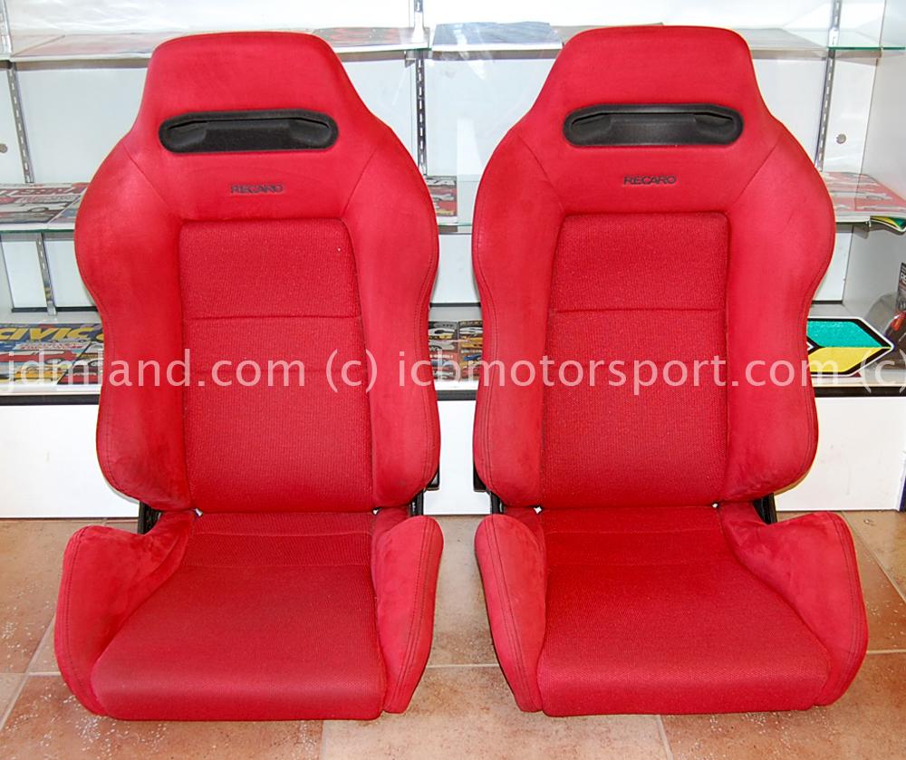 Used JDM Honda DC2 Integra Type R Red Recaro Seats Sold