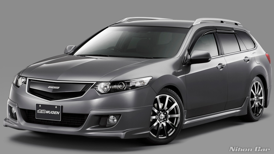 Mugen Front Grille Kit Acura TSX Accord CU CW Wagon - Acura tsx grill