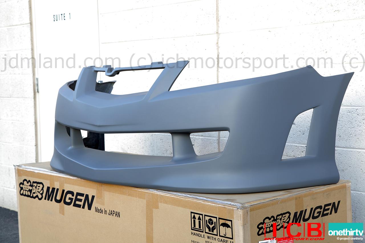 Mugen Front Aero Bumper Accord EuroR CL Acura TSX CL - Acura tsx bumper