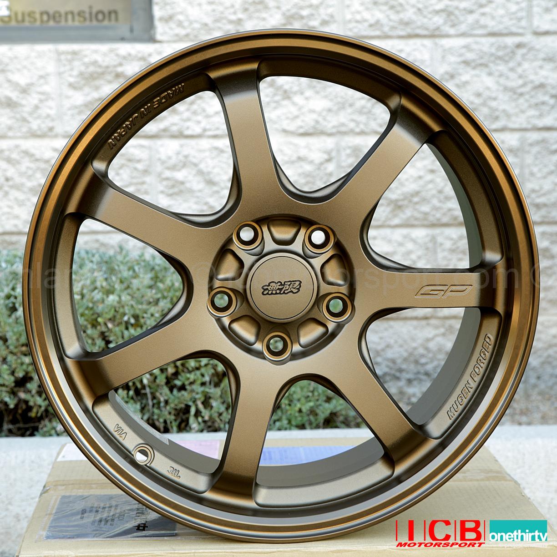 Mugen Forged Aluminum Wheels Gp 17x7 48 Offset Crzcivic Ek Em1