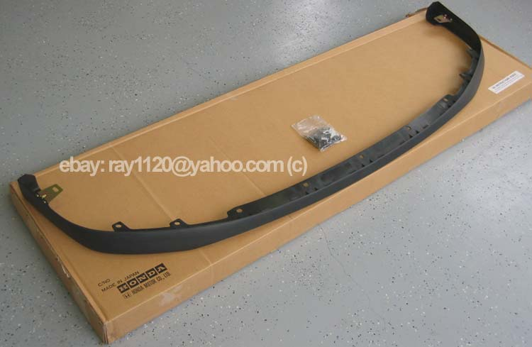 Jdm honda civic ek4 sir 1996 98 front chin lip spoiler optional genuine honda hardware kit comes with 2 flange bolts 11 spring nuts and 9 bumper bolts publicscrutiny