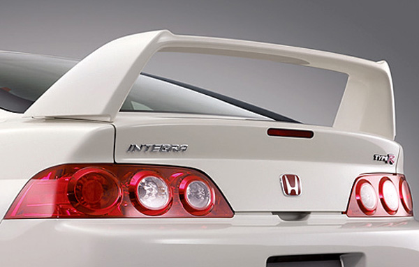 JDM Integra DC Type R Rear Red H Emblem - Jdm acura integra parts