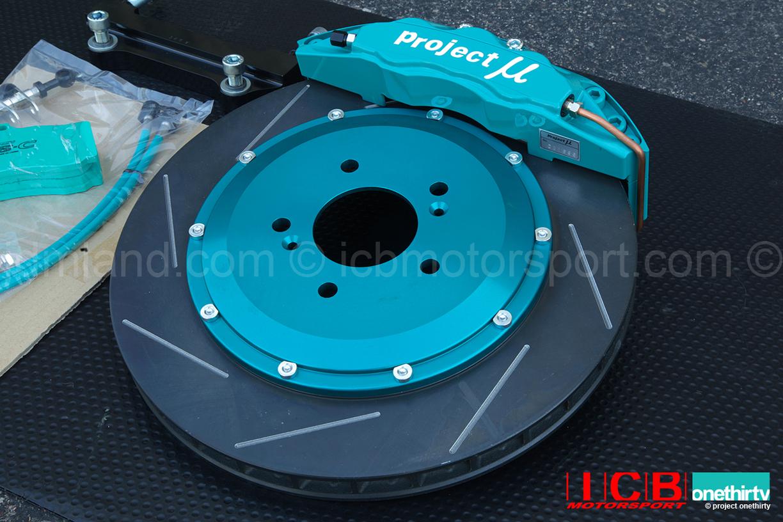 Project Mu Forged Caliper Pot Slim Brake Kit Mmrotor Honda S Ap Ap Pmu Fs S H B