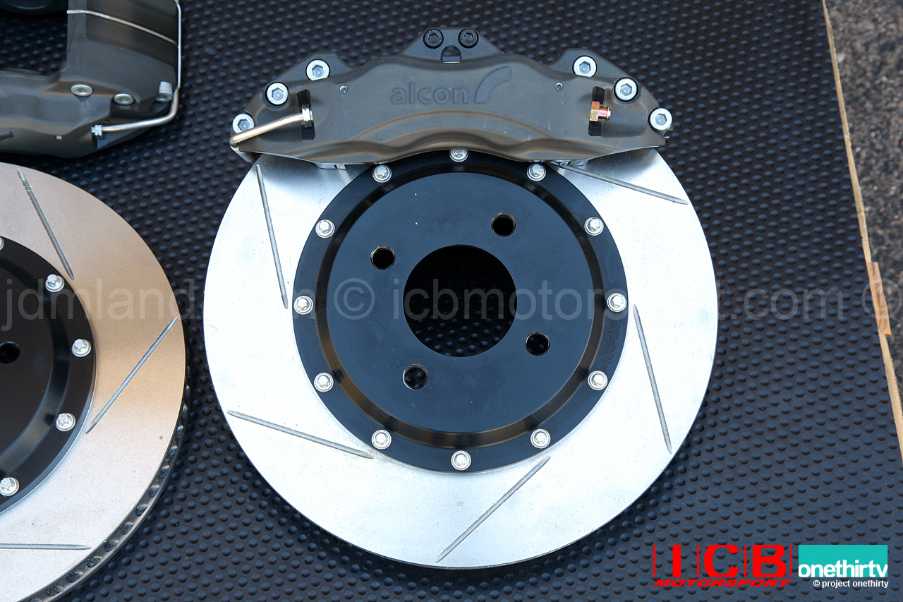 "Hawk Brake Pads >> Alcon Forged Calipers w/ 295mm/11.6"" Rotors 