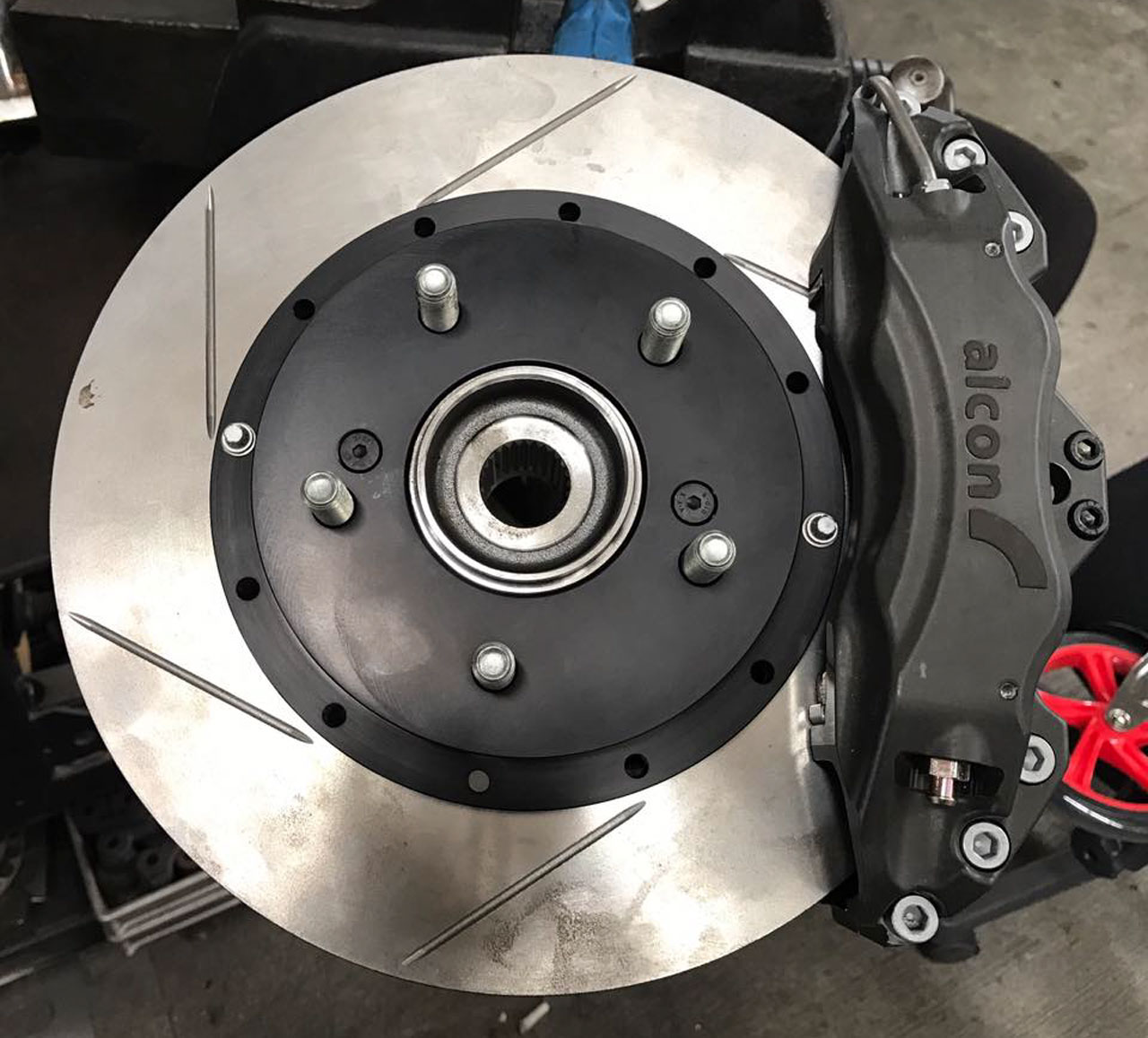 Alcon Forged Calipers W 295mm 11 6 Quot Rotors Brake Kit