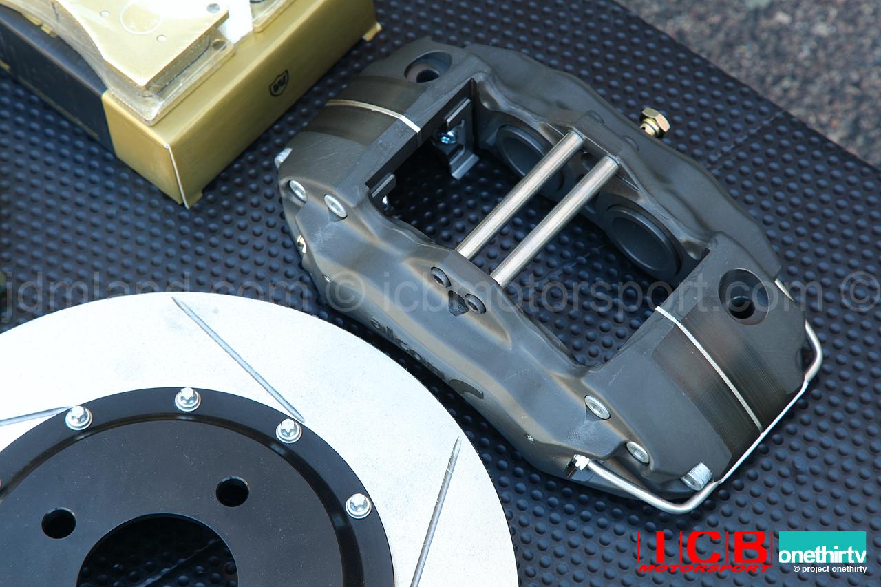 "Hawk Brake Pads >> Alcon Forged Calipers w/ 295mm/11.6"" Rotors | Brake Kit ..."