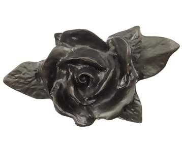 4 3/4 Inch Single Rose Knob (Bronze Finish)