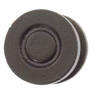 1 1/4 Inch Solid Pewter Sonnet Knob (Bronze Finish)