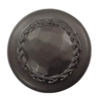 1 1/2 Inch Solid Pewter Bandolier Knob (Bronze Finish)