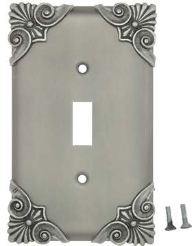 Corinthia Wall Plate (Matte Nickel Finish)