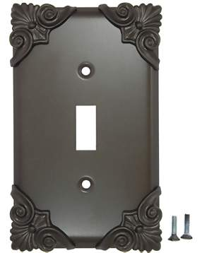 Corinthia Wall Plate (Oil Rubbed Bronze Finish)