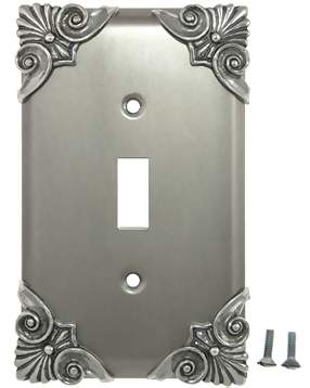 Corinthia Wall Plate (Bright Nickel Finish)