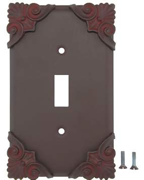 Corinthia Wall Plate (Rust Finish)