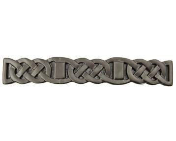 4 1/2 Inch Solid Pewter Celtic Aran Pull (Bronze Finish)