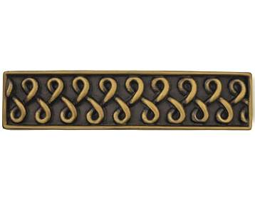 4 7/8 Inch Solid Pewter Celtic Shannon Pull (Rubbed Bronze Finish)