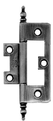 2 1/2 Inch Smooth Cabinet Hinge With Finial