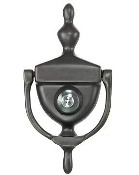 6 Inch (3 3/4 Inch c-c) Heritage Style Door Knocker (Oil Rubbed Bronze)