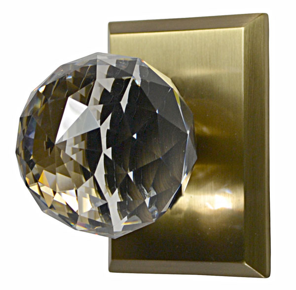 Cut Crystal Door Knob