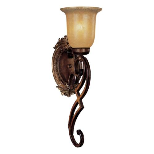 Minka Lavery 20 3/4 Inch Aged Champagne Glass Belcaro Wall Sconce