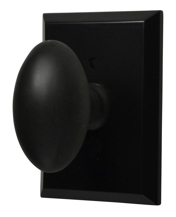 Traditional Oval Door Knob (Oil Rubbed Bronze Finish)