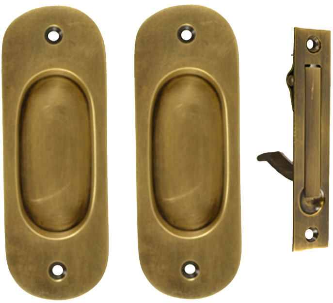 Antique Hardware Pocket Door Hardware