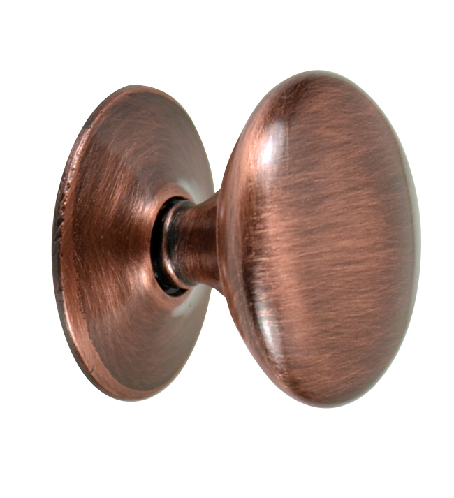 Federal American Style Hardware in Antique Copper - Federal Style Furniture