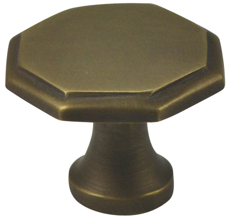 Early American Style Hardware in Weathered Brass