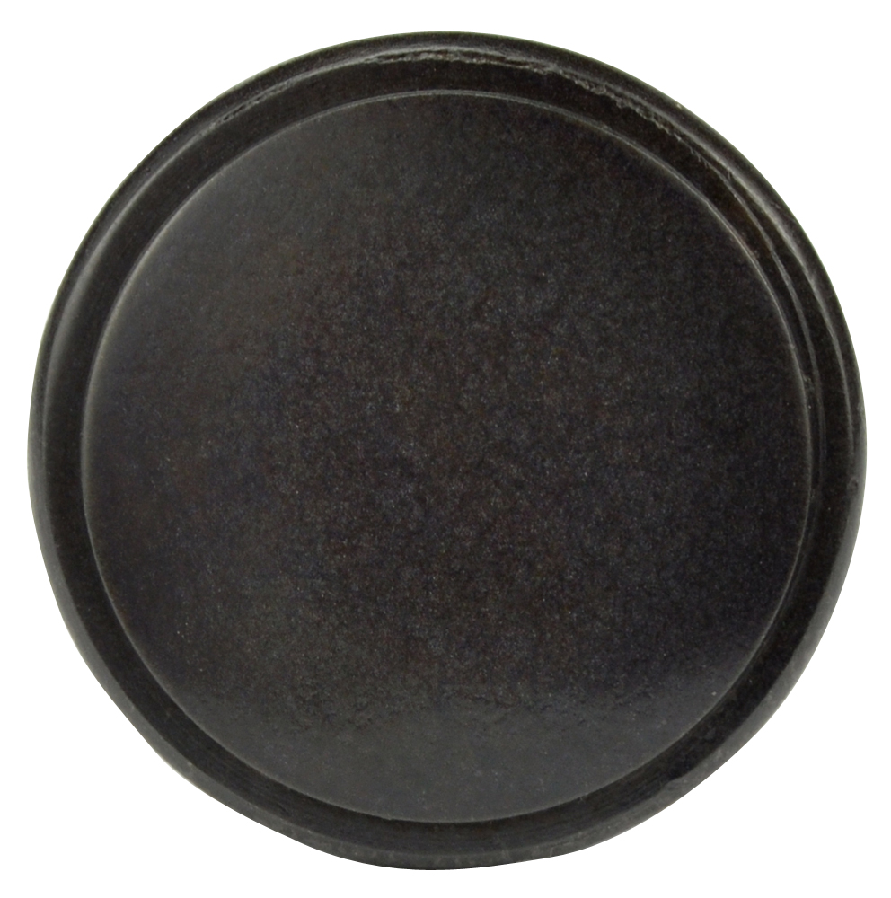 1 Inch Brass Flat Top Cabinet Knob (Oil Rubbed Bronze Finish)