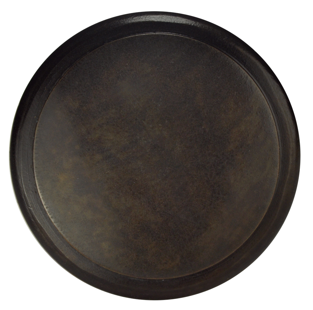 1 1/4 Inch Brass Flat Top Cabinet Knob (Oil Rubbed Bronze Finish)