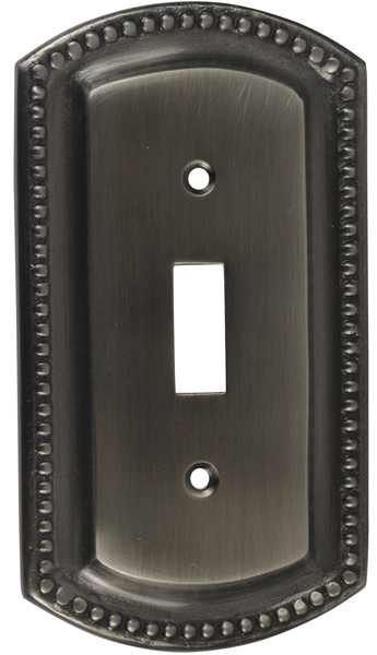Beaded Border Style Switch Plate
