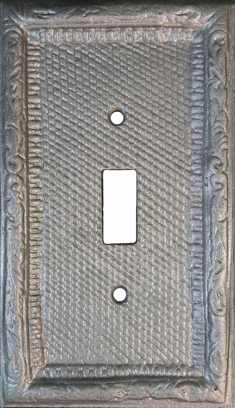 Ornate Victorian Switch Plate