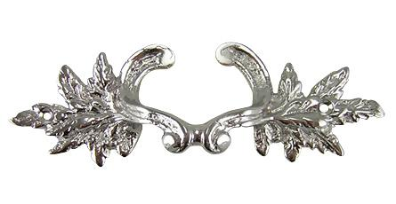 Rococo Furniture Hardware In Polished Chrome